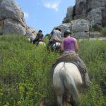 Avontuurlijke paardrijvakanties Equi-Sud